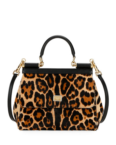 Devotion Borsa Leopard Top-Handle Bag