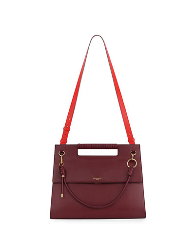 Whip Large Two-Tone Shoulder Bag