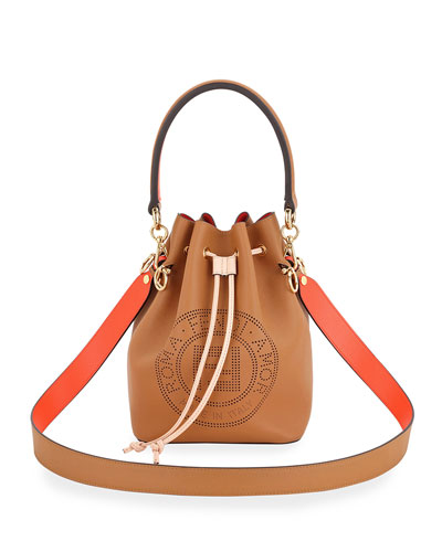 Mon Tresor Perforated Bucket Bag