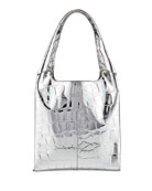 Hayward 1712 Embossed Faux-Leather Basket Bag