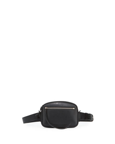 Captain Smooth Leather Belt Bag