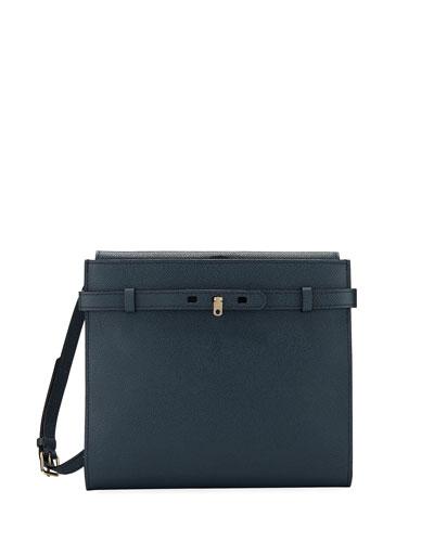 Saffiano Calf Crossbody Bag