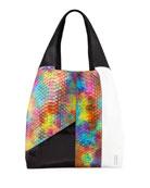 Hayward Grand Shopper Python Tote Bag