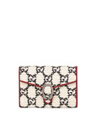 Gucci Dionysus GG Tweed Wallet on Chain
