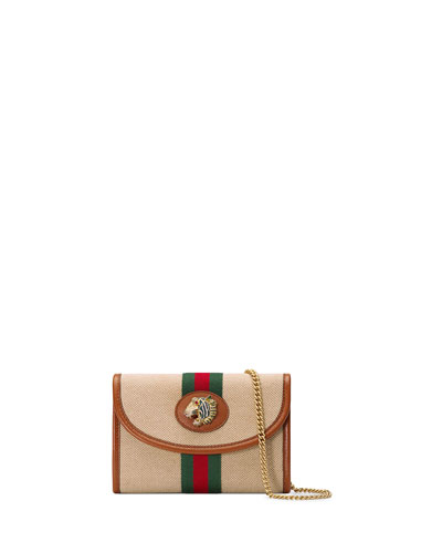 Rajah Mini Canvas Crossbody Bag