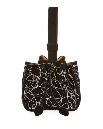 Rose-Marie Mini Suede Bucket Bag