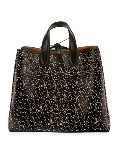 Frida Large Top-Handle Bag