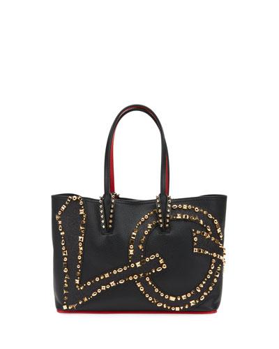 Cabata Small Love Calf Paris Tote Bag