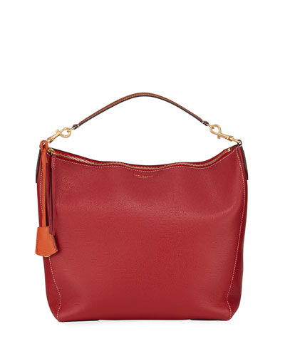 Perry Leather Hobo Bag