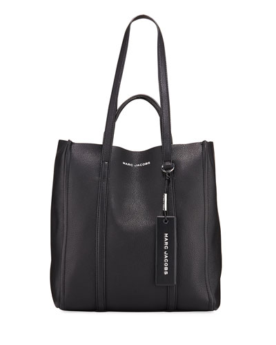 The Tag Leather Tote Bag