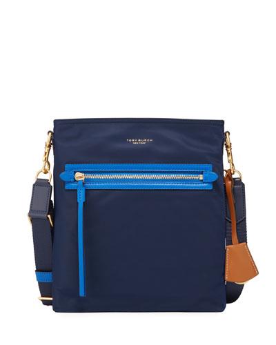 Perry Nylon Colorblock Crossbody Bag