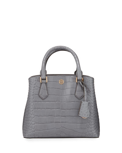 Robinson Croc-Embossed Small Tote Bag