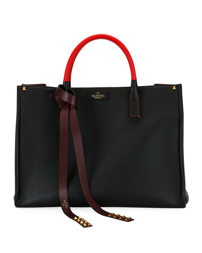 VLTN Soul Two-Tone Tote Bag