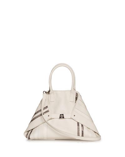 Ai Small Leather Top-Handle Bag