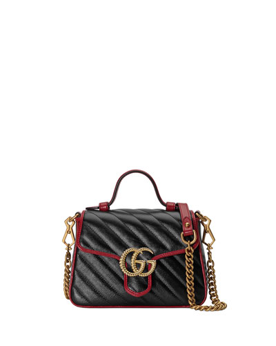 GG Marmont Torchon Mini Top-Handle Bag