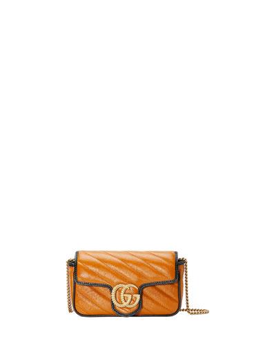 GG Marmont Torchon Super Mini Crossbody Bag