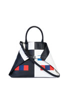 Akris Ai Medium Colorama Top-Handle Bag