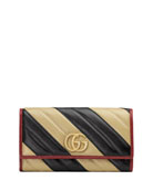 Gucci GG Marmont Torchon Continental Wallet