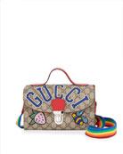 Gucci Girls' GG Supreme Top Handle Shoulder Bag
