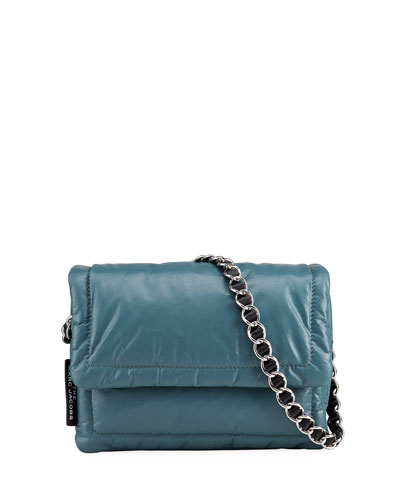 The Pillow Shiny Leather Shoulder Bag