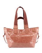 Isabel Marant Bagya New Crackled Tote Bag