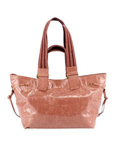 Isabel Marant Bagya New Crackled Tote Bag