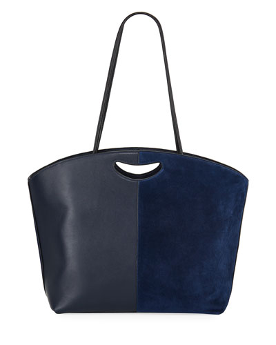 1712 East-West Mixed Tote Bag