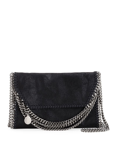 Falabella Shaggy Deer Multi-Chain Fold-Over Crossbody Bag