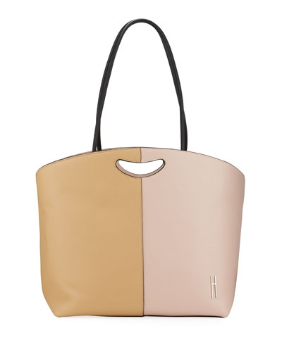 1712 East-West Two-Tone Tote Bag