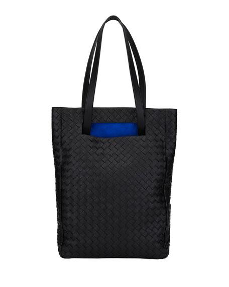 Bottega Veneta Intrecciato North/South Bucket Tote Bag