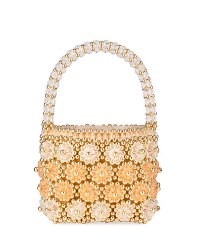 Shell Cluster Beaded Bag