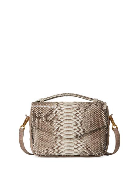 Nancy Gonzalez Small Soft Python Crossbody Bag