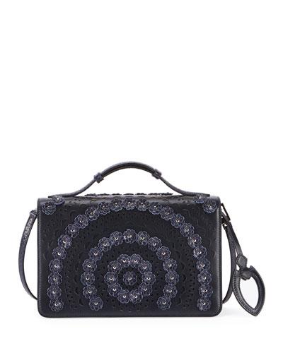 Franca Medium Vienne Fleur Crossbody Bag