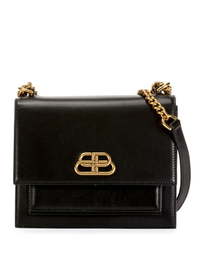 Sharp Small Shoulder Bag with Chain