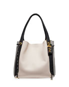Coach 1941 Harmony Colorblock Snakeskin Hobo Bag
