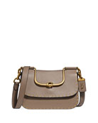 Coach 1941 Ellie Glove-Tanned Rivets Crossbody Bag