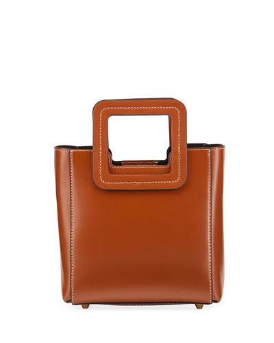 Shirley Mini Leather Tote Bag
