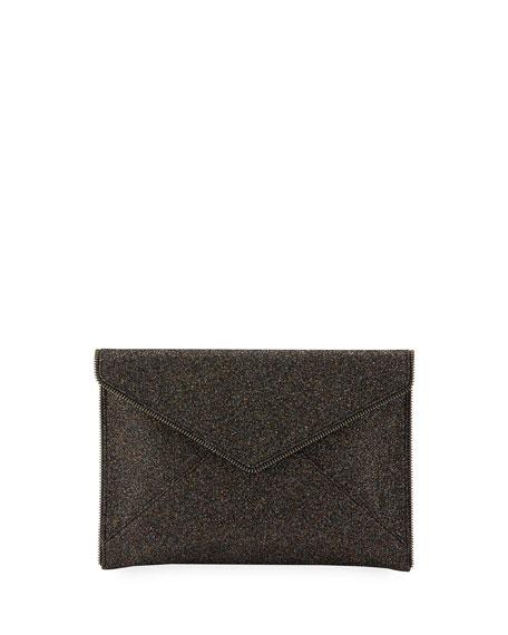 Rebecca Minkoff Leo Glitter Envelope Clutch Bag