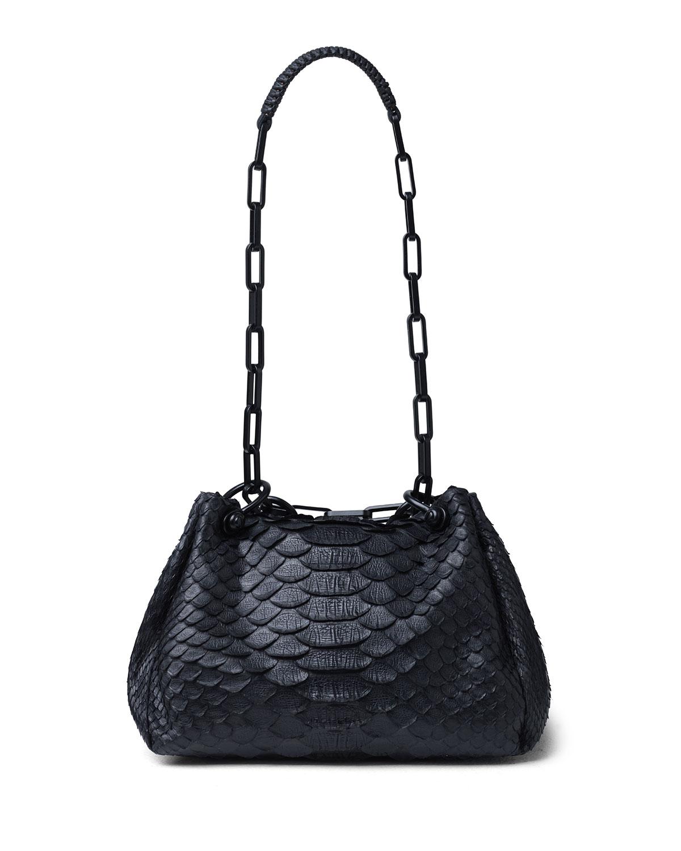 Mini Python Hobo Bag