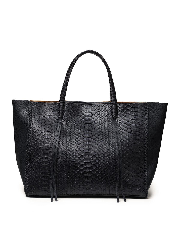 Dual Python Tote Bag
