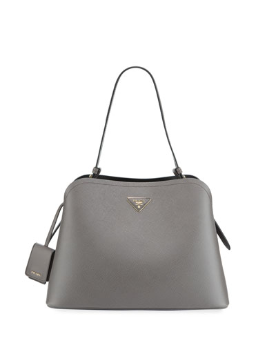 Matinee Saffiano Top-Handle Tote Bag