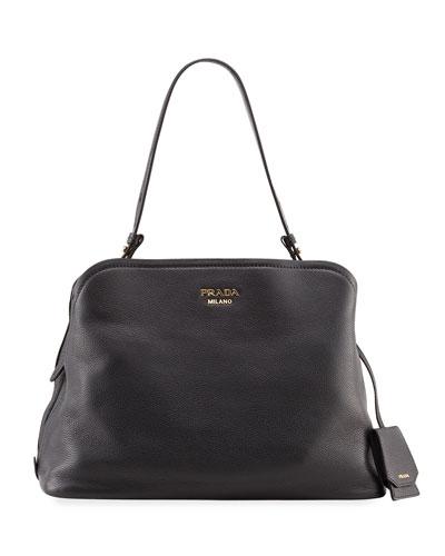 Large Matinee Top Handle Tote Bag