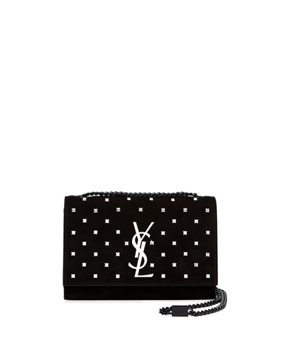 Kate Small Monogram YSL Leather Crossbody Bag with Crystals