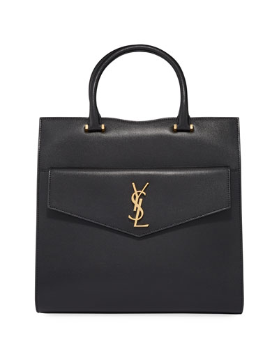 Large YSL North-South Uptown Satchel Bag