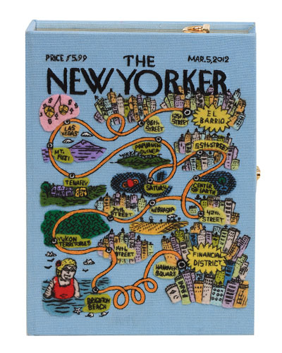 The New Yorker Box Clutch Bag