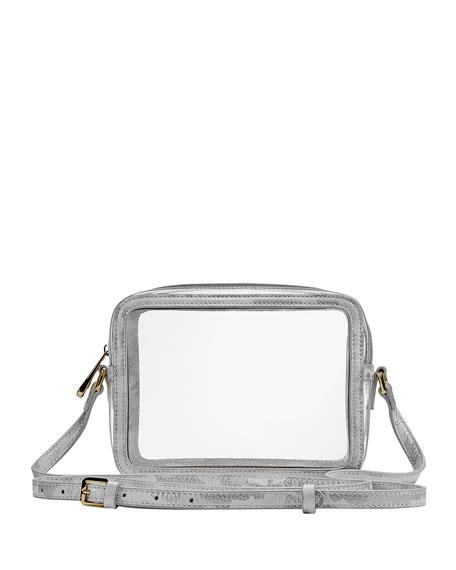 Gigi New York Collins PVC Crossbody Bag with Camo Border