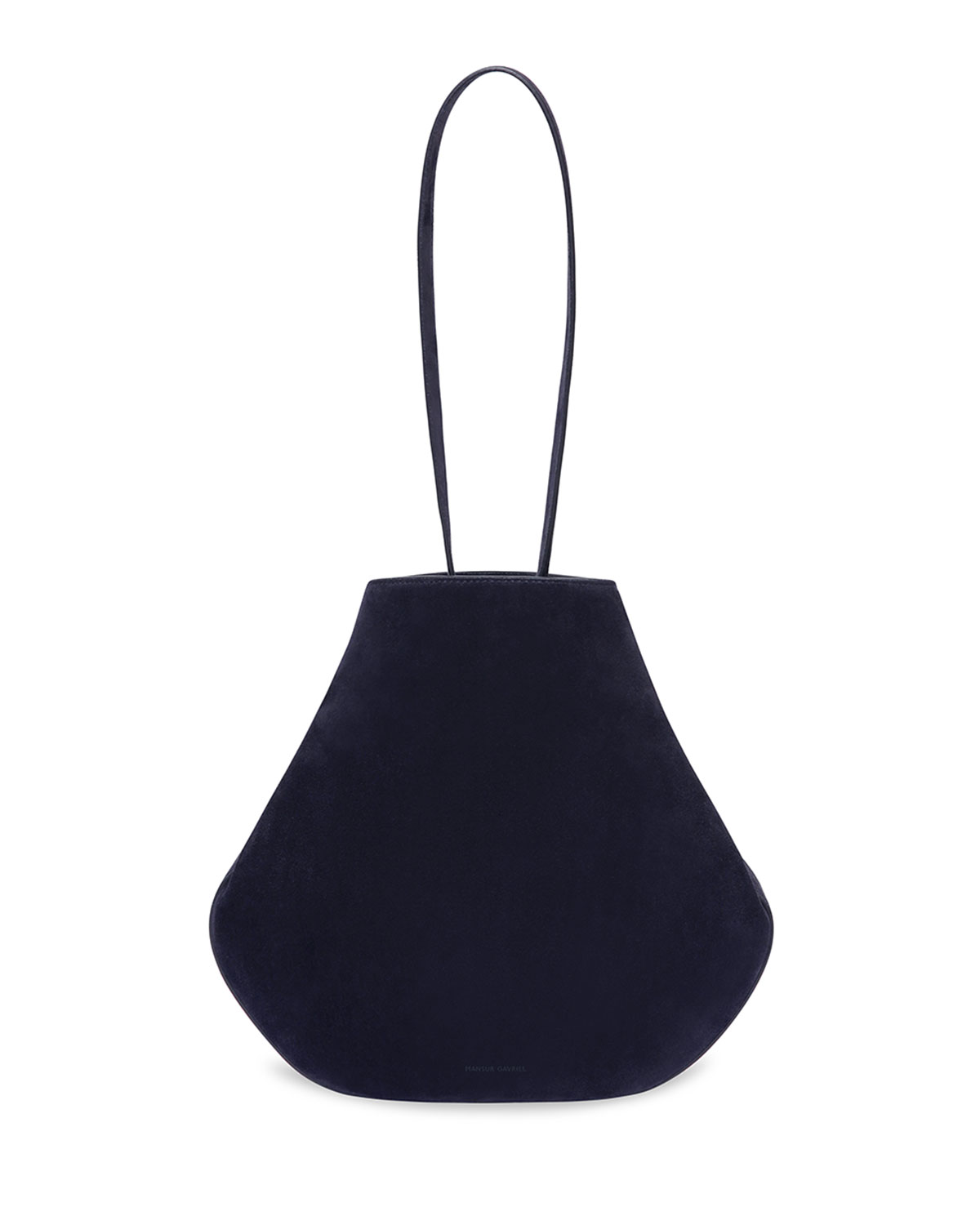 Mansur Gavriel Accessories SUEDE DRAWSTRING POUCH BUCKET BAG