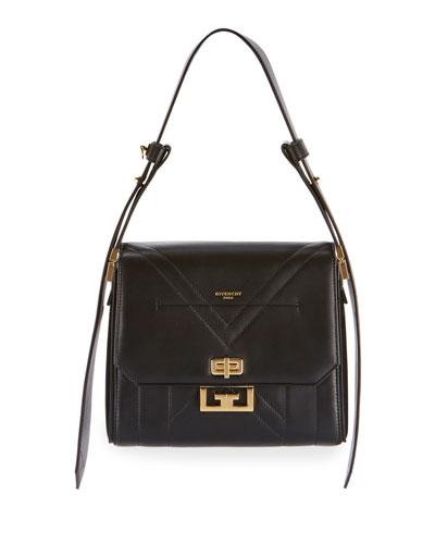 Eden Medium Quilted Leather Shoulder Bag