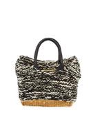 MUUN Charles Knit Woven Top Handle Bag