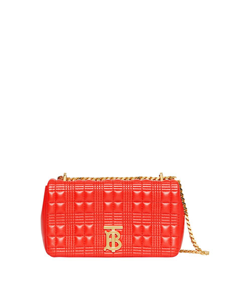 Burberry Lola Small Quilted Lambskin Crossbody Bag